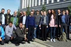 Visit of the X-MINE consortium to the Comex manufacturing and research facilities at Kety, Poland